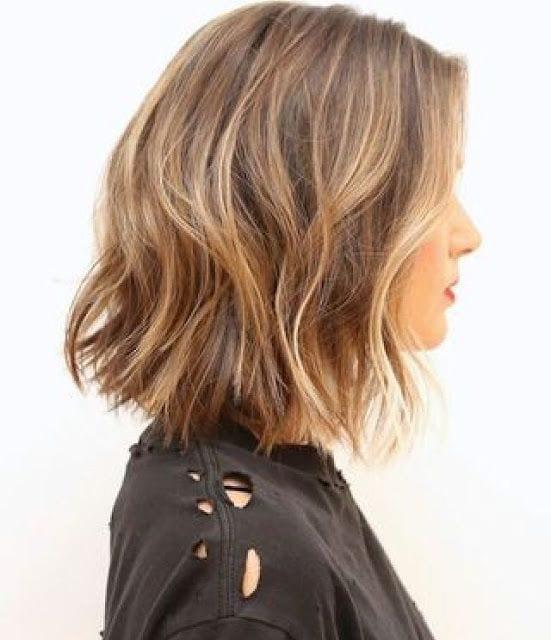 cabelo dourado curto