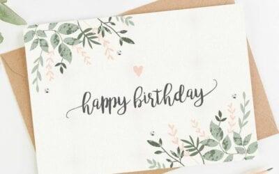 Cartão de Aniversário para Amiga Grátis