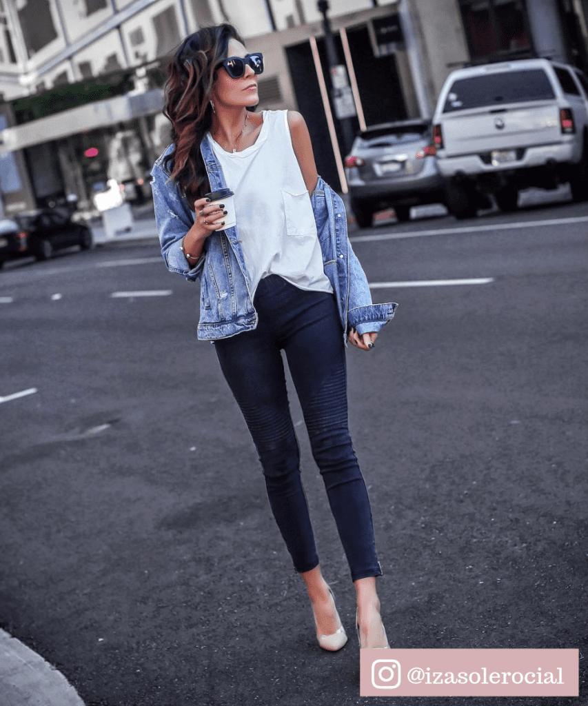 calça legging que parece jeans