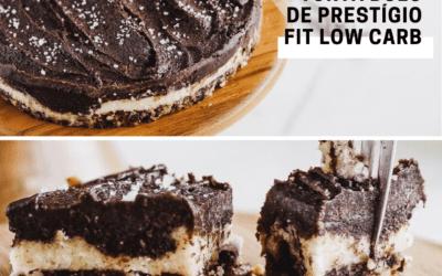 Receita de Bolo de Prestígio Fit e Low Carb super saudável